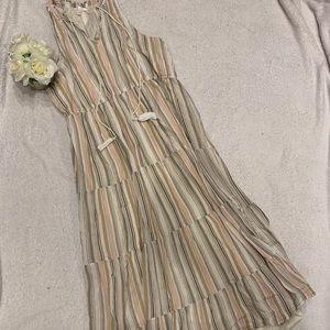 Like New Peasant Style Floor Length Dress